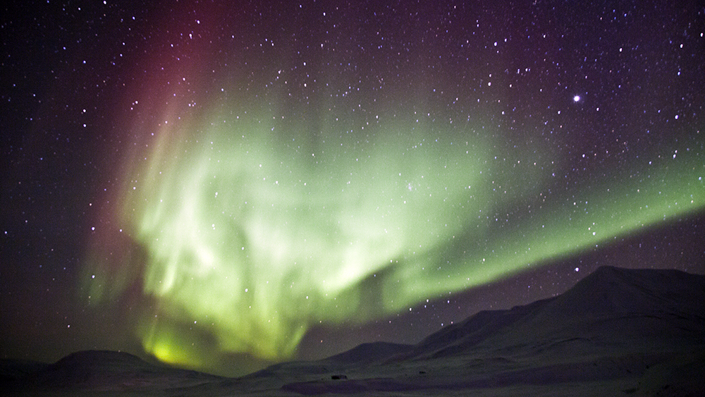 Northernlights on Svalbard