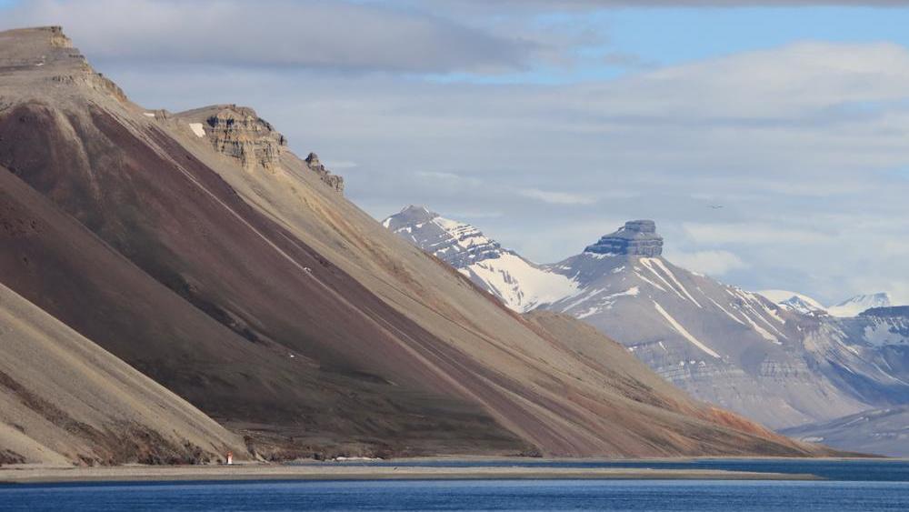 Berge auf Spitsbergen