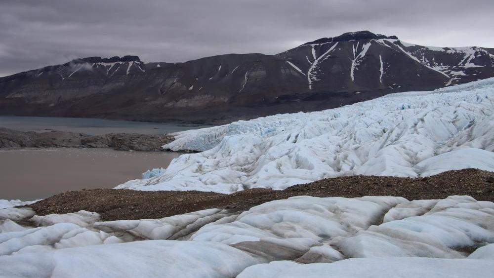 Gletscher in der Arktis