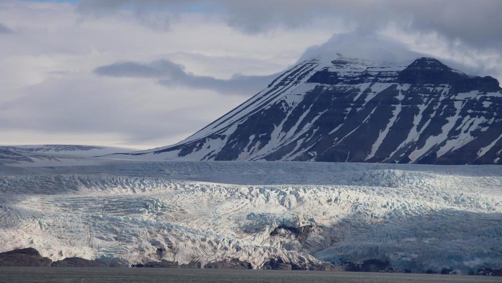 Nordenskiöldbreen Gletscher auf Spitzbergen