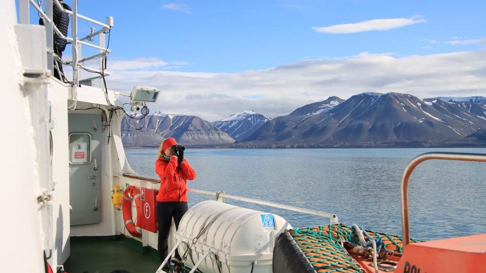 Schiffstour mit der Polargirl auf Svalbard