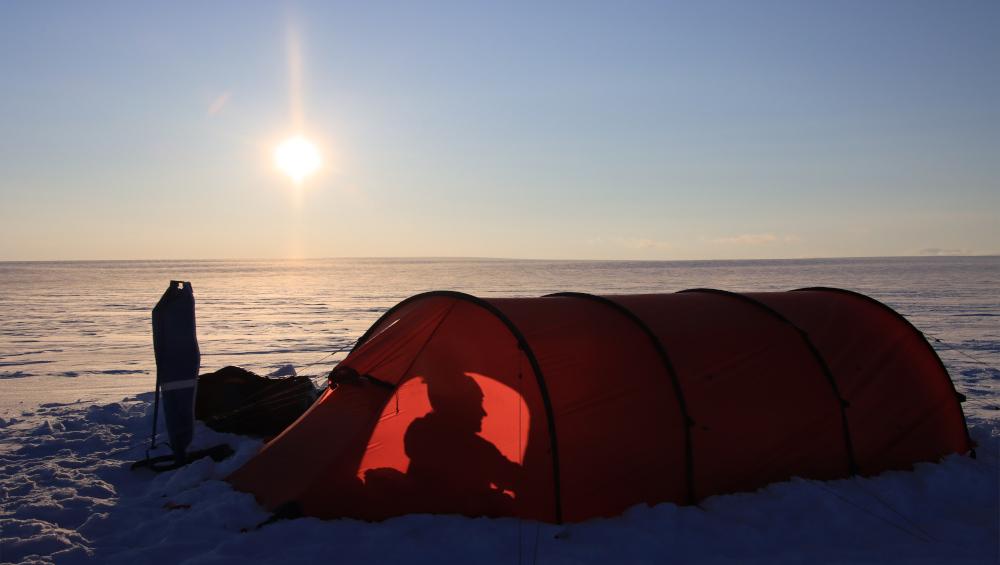 Übernachten im Zelt ist ein spannendes Abenteuer