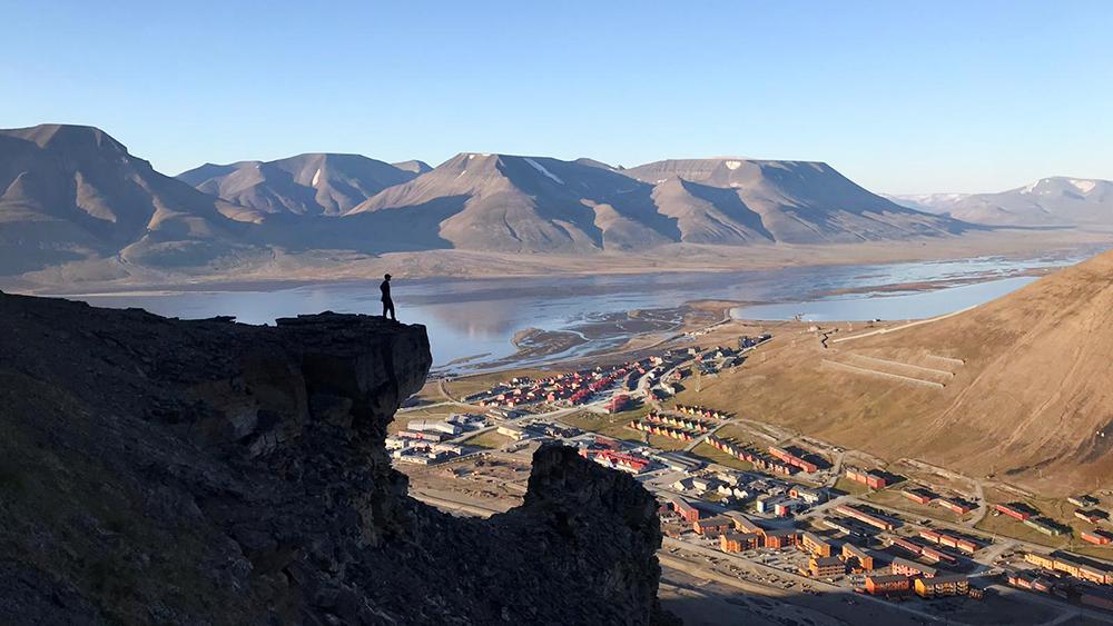 Wanderung in Longyearbyen