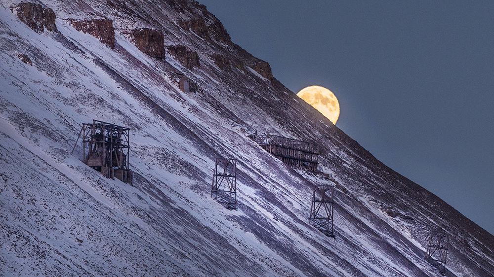 Kohlengrube 1a bei Longyearbyen