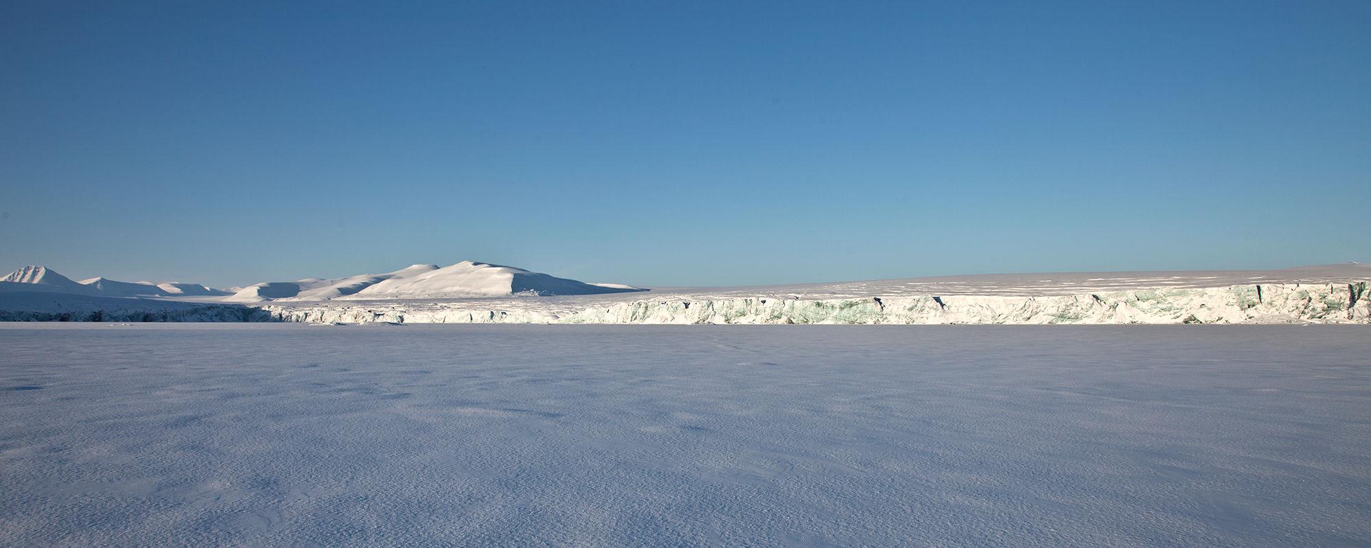 Mohnbukta an der Ostküste Spitzbergen