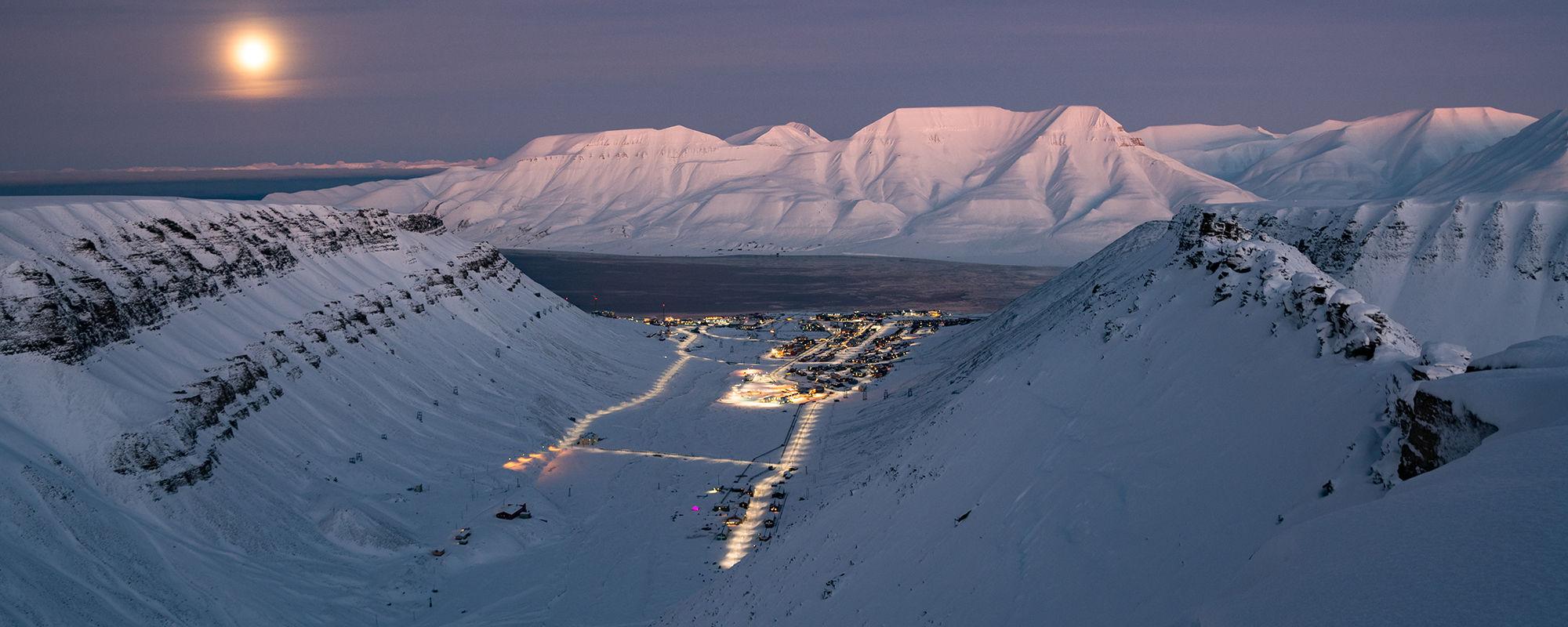 Sarkofagen bei Longyearbyen