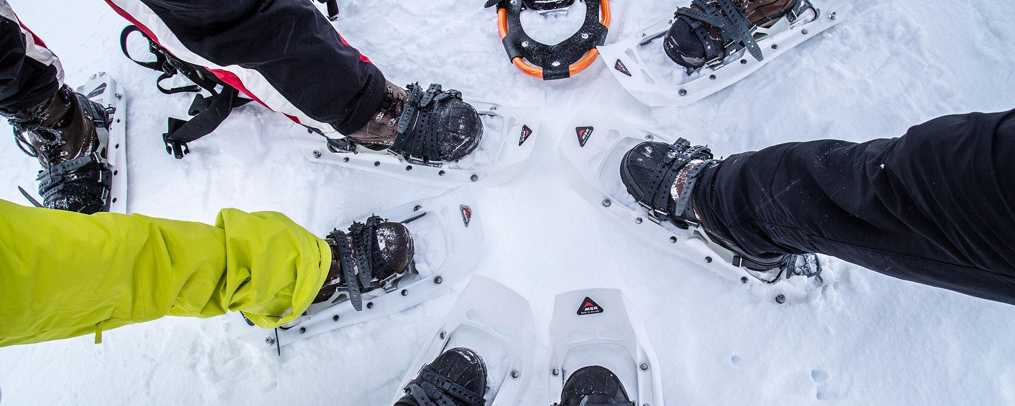 Schneeschuh Tour auf Spitzbergen