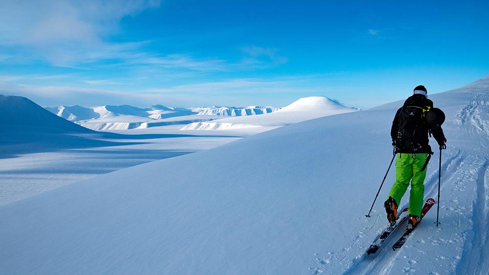 Ski Touren auf Spitzbergen