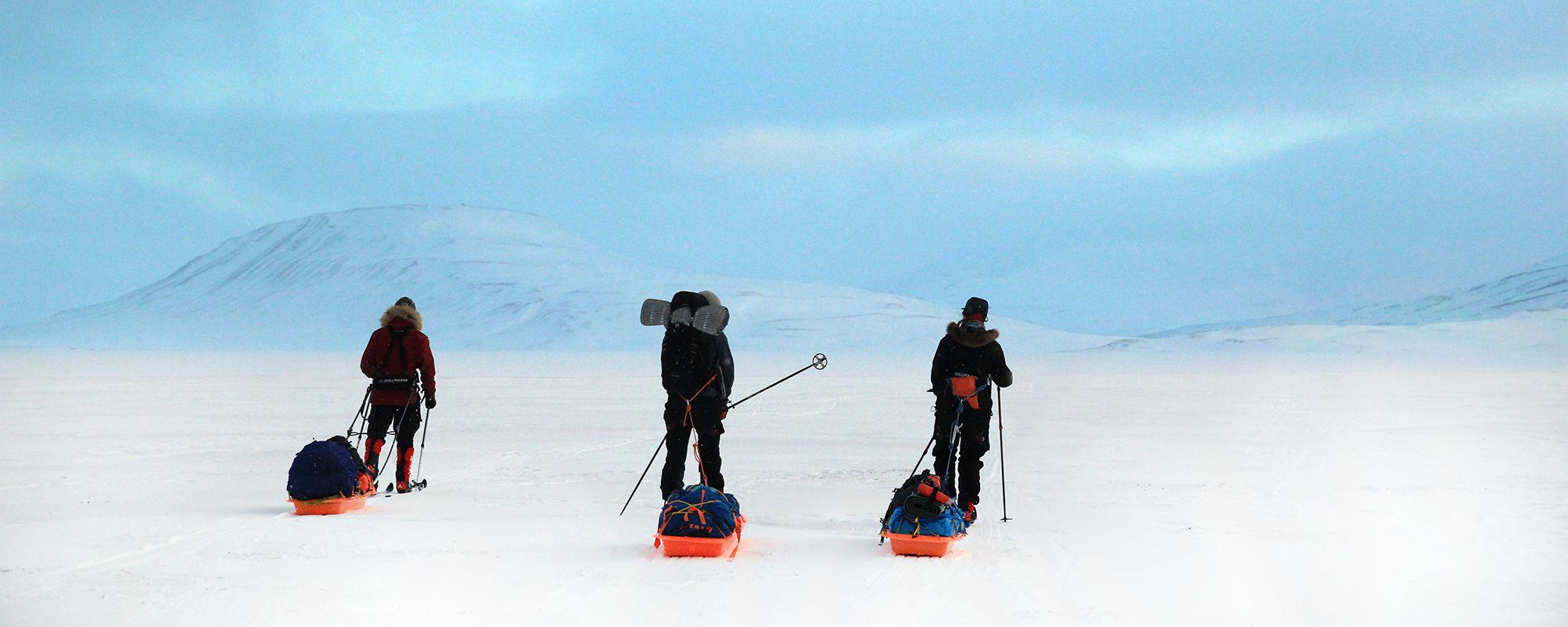 Ski Trip in Svalbard