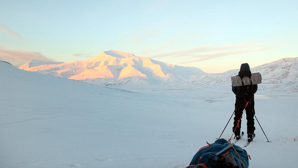 Skitrips auf Spitzbergen
