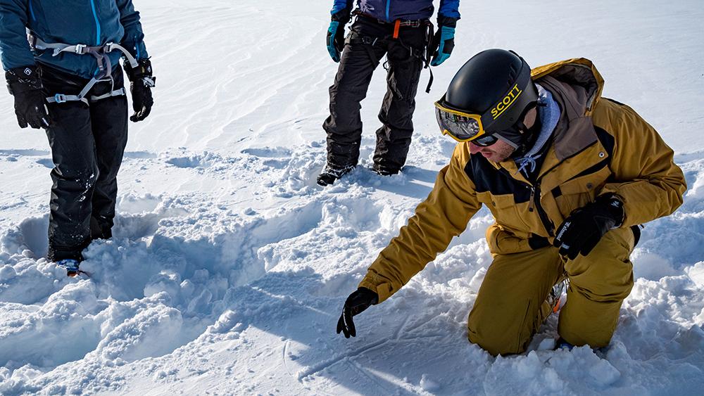 Snowkite Unterricht auf Spitzbergen