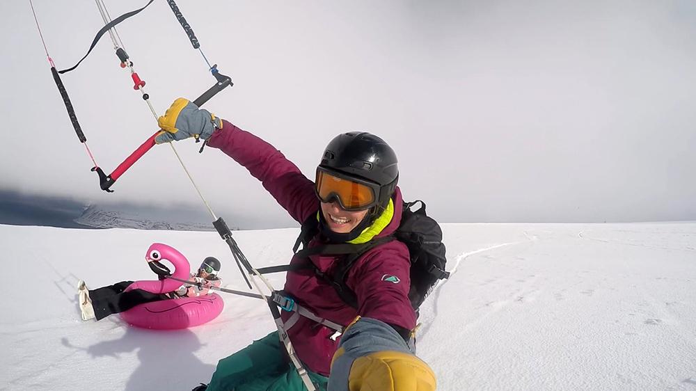 Snowkitecamp Spitzbergen