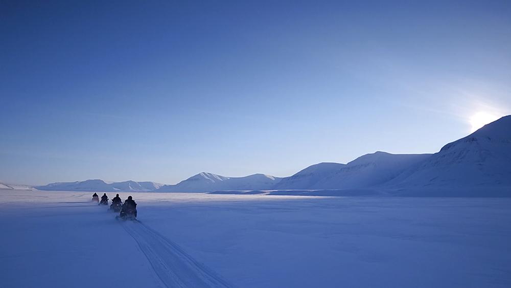 Snowscooter-safari Sassendalen