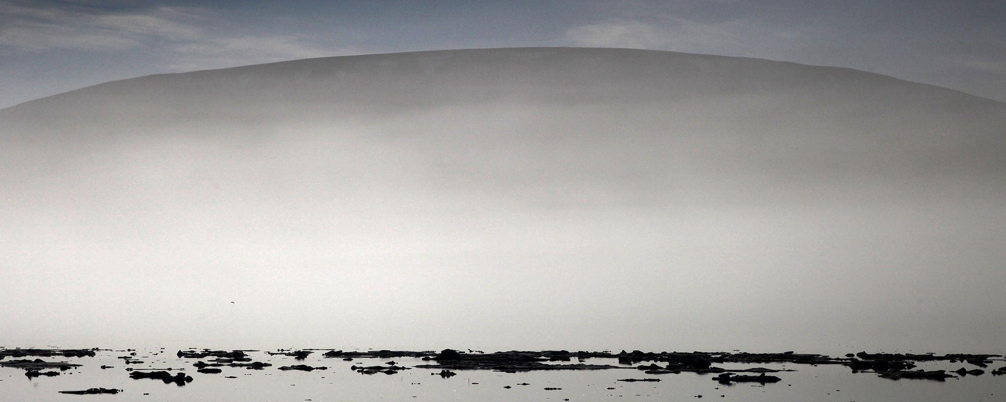 Spitzbergen im Nebel