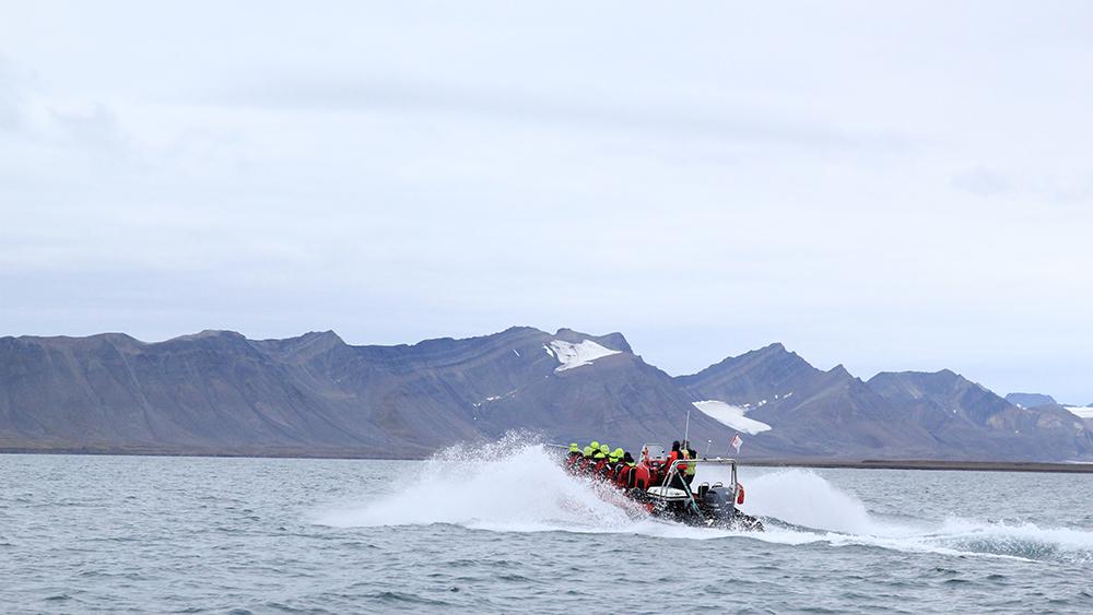 RIB-Boot Turen auf Spitzbergen